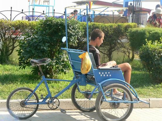 Как из велосипеда сделать рикшу своими руками