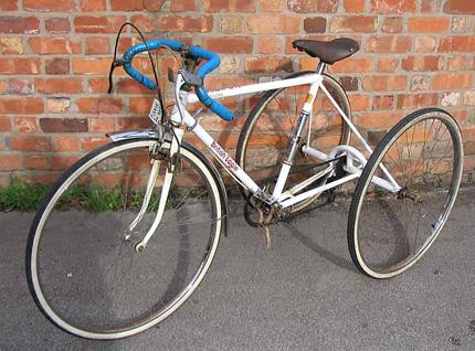 Трайк - трехколесный велосипед